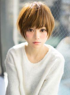 愛され小顔ショート 【AFLOAT JAPAN】 http://beautynavi.woman.excite.co.jp/salon/28130?pint ≪…