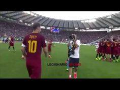 Roma Genoa 3-2 L'addio di Francesco Totti 28/05/2017