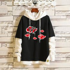 Buy NARUTO THEMED PULLOVER HOODIE (8 VARIAN) at www.jewel123.com! Free shipping to 185 countries. 45 days money back guarantee. Edgy Outfits, Cosplay Outfits, Anime Outfits, Cosplay Costumes, Cute Outfits, Fashion Outfits, Sweat Streetwear, Naruto Clothing, Themed Outfits