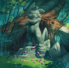 Painting by naiiade on DeviantART