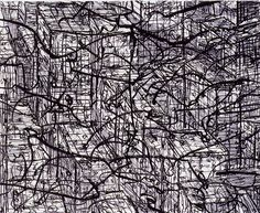 Urban Static 2003 - Lithography Edition of 20 51 x 58 cm. (paper) 38 x 47 cm. (stone)