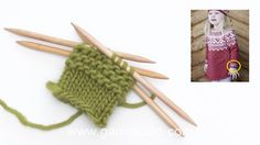 How to knit garter stitch in the round on double pointed needles Drops Design, Embroidery Thread, Machine Embroidery, Embroidery Designs, Crochet Baby, Knit Crochet, Drops Baby, Carters Baby Girl, Baby Girls