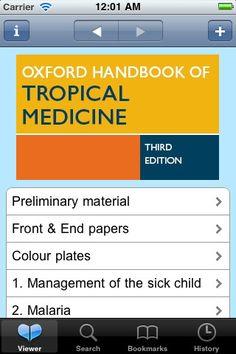 Oxford Handbook of Tropical Medicine  Third Edition iPhone Screenshot 1 found on AnyKey.Com