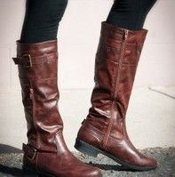 Leather boots- love