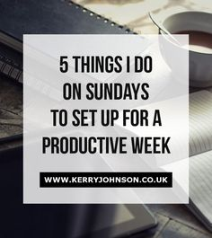Do you plan your working week in advance? Working from home, around various other commitments, gives me far too many opportunities to become distracted and procrastinate. However I've set up a system, that I stick to, which ensures I set myself up for a productive week.  Productivity | Work from Home | Network Marketing | Planning | Business