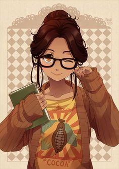 Girls young teen nerd
