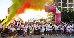 Mundialito Color a corrida colorida em Monte Gordo