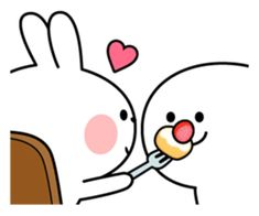 Spoiled Rabbit is looking forward to the next date. Have a nice day! Cute Love Pictures, Cute Love Gif, Cute Love Memes, Cute Wallpaper Backgrounds, Cartoon Wallpaper, Cute Wallpapers, Bunny Meme, Memes Lindos, Cute Cartoon Images