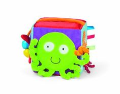 Manhattan Toy Ocean Activity Cube by Manhattan Toy. $8.99. Features engaging fabrics in bright contrasting colors. Made of soft, high-quality fabrics. Manhattan toys: an award winning brand. Care instructions; spot wash. Helps baby discover the wonderful world of the page. From the Manufacturer                Lots of fun activities, colors, characters, and textures abound in this soft cube. Plus, the handle makes it easy to tote anywhere.                                    Produc...