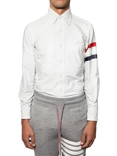 Thom Browne Classic Fit Oxford Cotton Shirt