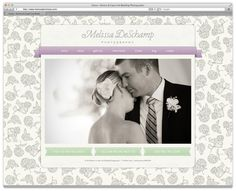 Melissa DeSchamp Customized ProPhoto Blog Template