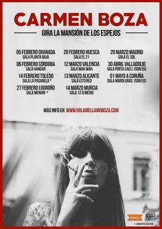 Concierto de Carmen Boza en Valencia
