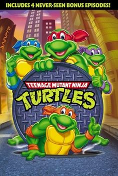 """Teenage Mutant Ninja Turtles Original Series Season 1 1987 DVD Animated Set TMNT The 1987 debut season of the wildly popular Teenage Mutant Ninja Turtles' first animated TV series finally arrives in its entirety on this single disc. And while it's a pleasure to have these long-unavailable episodes in DVD format, the set's lackluster presentation and paltry extras also make it a disappointment for those hoping for a more expansive release. Volume Onecontains the five-episode """"miniseries""""…"""