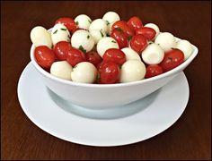 Ovos de Codorna e Tomate Cereja