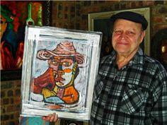ART - Frank Wright @ Laubar Art Exhibition - Brooklyn Square - Pretoria Pretoria, Brooklyn Bridge, Baseball Cards, Artist, Painting, Artists, Painting Art, Paintings, Painted Canvas