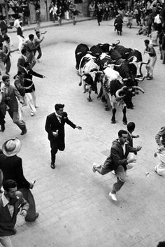 Fiestas de San Fermín. Sanfermines 1947 (Tony Linck 7-7-1947)