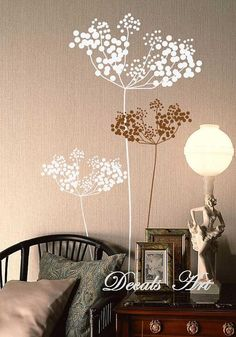 Dandelions Vinyl wall sticker wall decal tree decals by DecalsArt, $37.00