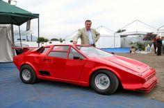 Da un'Alfa 33 a una Ferrari: il sogno diventa realtà per l'artista Michele Lobosco #alfa33 #ferrari #michelelobosco #trasformazione