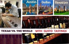 Gusto Tastings Founder Committed To Texas Wine Awareness and Education ‹ Texas Wine and Trail Magazine