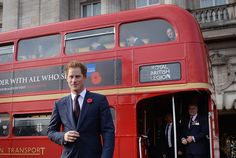 Prince Harry supports London Poppy Day