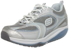 Skechers Women's Shape Ups XF - Accelerators Lace-Up Fashion Sneaker,Silver Blue,9.5 M US. Orig price: $100.00. Your price: $49.95. http://www.amazon.com/gp/product/B00377GRBY