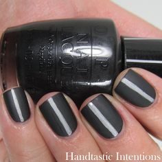 Handtastic Intentions: Work Wear Wednesdays. How to Wear Dark Colors at Work. Work Appropriate Nails