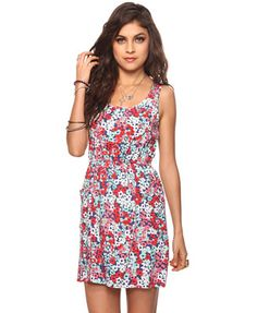 Forever21 - Abstract Floral Dress <3, $17.80