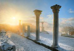 Chersones, Crimea. Winter 2012