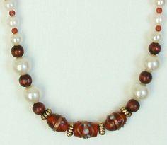 Handmade Beaded Necklace by terririchard on Etsy, $10.00