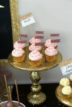 Pocket : Cheers, Let's Celebrate, A Gold and Glitter party by Sweet Details