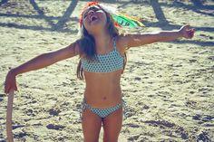by dosydos kids ss'15 Kids Swimwear, Swimsuits, Bikinis, Ss 15, Crochet Bikini, Cute Girls, Underwear, Fashion, Moda