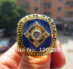 Free Shipping 1984 Detroit Tigers World Series championship ring Baseball size 11 Solid Fan Gift High Quality Wholesale | Herta Store