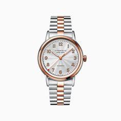 Relógio feminino Atlas™ 2 Ponteiros 29 mm em aço inoxidável.   Tiffany & Co.