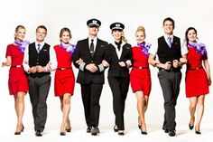 Cabin Attendants from All Over the World. Please check my site for more flight attendant uniforms!