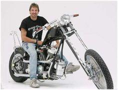 Rick Petko, Senior Fabricator for Orange County Choppers