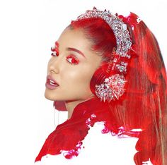 Ariana Grande photo edit by Annelie van Lare