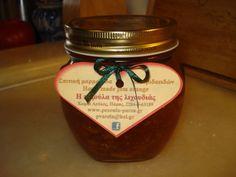 η καλύτερη μαρμελάδα !!! @pezoula_paros Honey, Food, Meals, Yemek, Eten