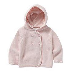 J by Jasper Conran - Designer babies chunky knitted cardigan debenhams.com