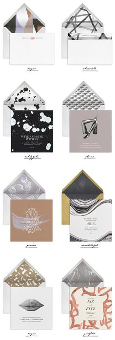 Kelly Wearstler for Paperless Post collection Erika's picks