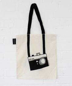 Fancy - Lazy Oaf   Camera Tote Bag