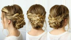 This updo is done a little more intricately than my usual hairstyles. By that I mean it's broken down into a few extra steps by creating and wrapping a numbe...