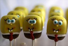 SpongeBob Cake Pops!