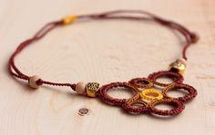 Crochet necklace by CandyCroch' - Soon in my Etsy shop!