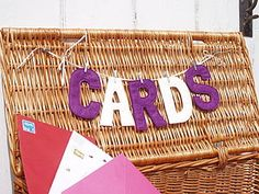 'Cards' Wedding Bunting - parties
