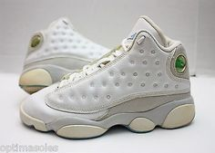 256a7f84d3a6 Nike Air Jordan XIII 13 Retro Size 4.5y - UNC -White Flint Grey Blue- 310271  103