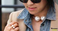 чокер своими руками с большим жемчугом - Поиск в Google Pearl Choker, Pearl Jewelry, Pearl Necklace, Chokers, Pearls, Google, Fashion, String Of Pearls, Moda
