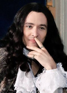The amazing Alexander Vlahos as Monsieur Philippe Duc D'Orleans in the canal+ series Versailles
