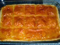 Ένα γαλακτομπούρεκο χορταστικό, όλο γεύση, με πολύ σιρόπι που μοιάζει πάρα πολύ με το αρτύσιμο και ικανοποιεί άριστα τον ουρανίσκο του νηστεύοντος. Υλικά: ένα πακέτο φύλλα κρούστας σπορέλαιο για το ά