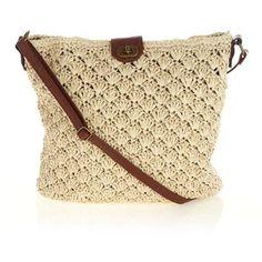 Free Crochet Pattern For Cross Body Bag : CROCHET MODA on Pinterest Crochet Bags, Tunisian Crochet ...