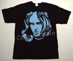 GENESIS Peter Gabriel drawing 22 CUSTOM ART UNIQUE T-SHIRT  Each T-shirt is individually hand-painted, a true and unique work of art indeed!  To order this, or design your own custom T-shirt, please contact us at info@collectorware.com, or visit  http://www.collectorware.com/tees-genesis_andrelated.htm